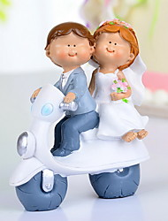 "Cake Toppers ""A Joyful Travel With You""  Cake Topper"