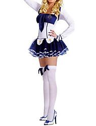 Sweet Girl manga longa clássico uniforme da marinha