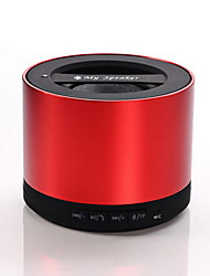 Wireless Mini Bluetooth Speaker alluminio per telefoni cellulari, Tablet PC