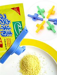 sac joint alimentaire clip avec le bouton de couverture (couleur aléatoire) d'étanchéité
