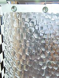 3D Diamond Vision EVA cortina de ducha