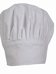Белая шляпа шеф-повара сложная слоя