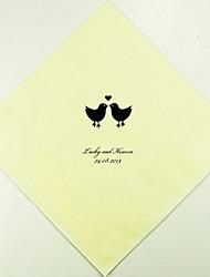 100% pulpe vierge Serviettes de mariage-100 Pièce / Set Serviette de déjeuner
