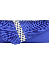 Fashion Imitation Silk With Austria Rhinestones Evening Handbags/Clutches More Colors Available