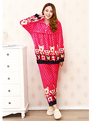 Women's Fleece Casual Lounge Wear