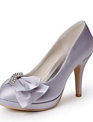 Women's Wedding Shoes Heels/Platform Heels Wedding Gray