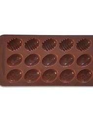Oval Shape Chocolate Candy Mold
