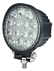 42W 13 LEDs Round Work Light