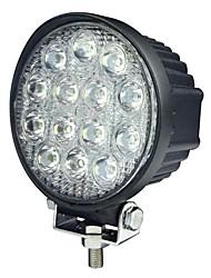 42W 13 LEDs Luz Trabalho Rodada