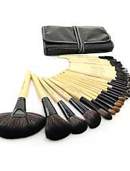 Make-up For You® 32pcs Makeup Brushes set  Limits bacteria/Professional Wood Blush/shadow/Lip/Lash/Powder/Concealer BrushMakeup KitCosmetic Brushes