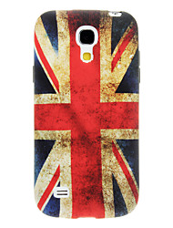 Vintage British Flag Pattern TPU Soft Case for Samsung Galaxy S4 Mini I9190