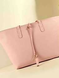 Fashion Leatherette Casual/Shopping Shoulder Bag/Totes