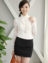 Women's Tops & Blouses , Lace Casual CHAOLIU