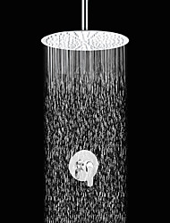 Shower Faucet Contemporary Rain Shower Brass Chrome