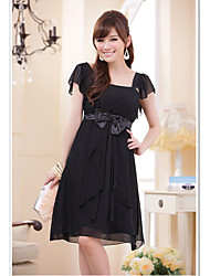 Women's Dresses , Chiffon/Polyester Party JK2