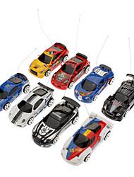Mini Cola Remote Control Racing Cars (Random Color)