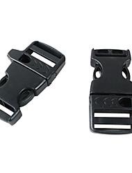 Plastic Side Release Buckles contorneada para 550 pulseras de Paracord