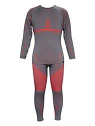 Course Ensemble de Vêtements/Tenus / Couches de base / Veste d'Hiver / Sous-vêtement Homme Manches longuesVestimentaire / Pare-vent /