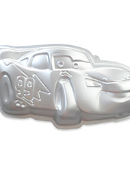 Aluminium Alloy Lightning Car Shape Cake Pan Cake Decorating Mold