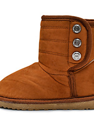 Kids' Insulated Short Button Boots
