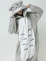 Chubby Totoro Gris Polaire Pyjama Kigurumi Cartoon nuit animale Halloween Costume