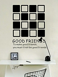 Parole Good Friends Wall Stickers