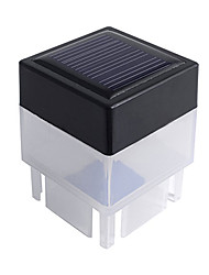 Solar Powered Fence Esgrima Cap Outdoor LED de luz branca