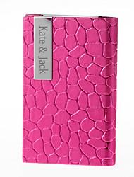 regalo groomsman cardcase apertura laterale personalizzato con pattern irregolare
