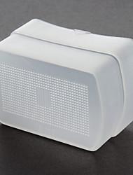 White Bounce Flash Diffuser Cap for Canon Speedlight 580EX 580EXI