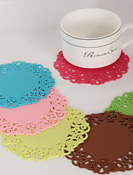 Silicone Energy Coaster - Set of 12 (More Colors)