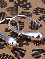 silver earring fashion jewelry Hoop Earrings4