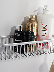 Contemporary Wall-mounted Aluminum Bathroom Accessories Bathroom Shelf