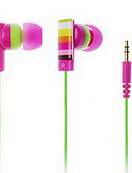 Colorful In-ear Stereo Music Earphone