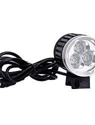 4-Mode 3xCree XM-L T6 светодиодный фонарик велосипедов (3000LM, 4x18650, Черный)