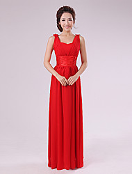 Women's Dresses , Chiffon Vintage/Party Qiaorui