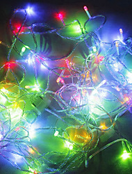 100-LED 10M Christmas Decorations RGB LED String Light