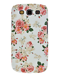 Plum Blossom Style Colorful Flower Design Plastic Back Case for Samsung Galaxy S3 i9300