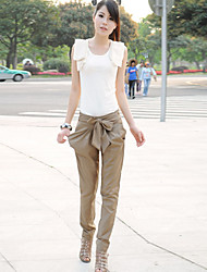 Women's Bow Belt Harem Pants