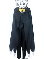 Costume Vampure Ghost Rider Black Dress Masculina
