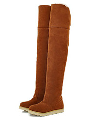 Frauen Isolierte Knee High Boots