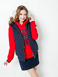 Красный BM Принцесса Женские сгущает Теплые Спортивная Досуг Четыре пьесы-костюм
