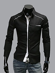 Men'S Long Sleeve Gentlemen Long Sleeve Shirt
