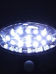 La energía solar de 15 LED de luz blanca LED PIR sensor de movimiento de la seguridad de montaje en pared Pathway Stair luz de la lámpara