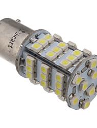2pcs 1156 BA15S 3.25W 6000K 216LM 54x3528SMD Cool White LED Light Bulb Car (12V)