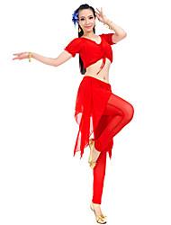 Rendimiento Spandex Belly Dance Trajes para damas (más colores)