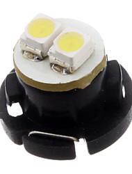 T4.7 2x3528SMD 6000-6500K lumière blanche fraîche du tableau de bord haute puissance Ampoule LED (12V)