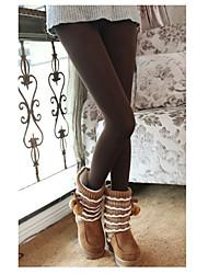kvinners solid svart / vin / grå Bodycon slanking stretchy leggings