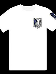 "Attack on Titan Shingeki keine Kyojin ""Wings of Freedom"" White T-Shirt"