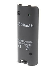 3600mAh batterie rechargeable pour Wii
