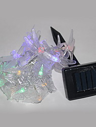 Solar Powered Butterfly String Light With 20 LEDS